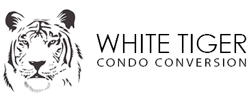 Condo Conversion San Francisco White Tiger Logo